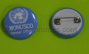 United Nation Events Metal Tin Plate Badge