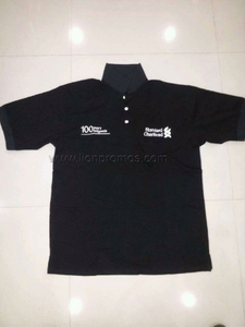 Standard Chartered Bank Logo Anniversary Celebrtion Souvenir Cotton Polo Shirt