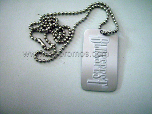 Custom Logo Metal Dog Tag