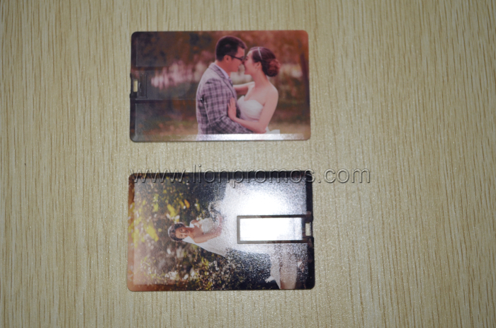 Sweet Memory Wedding Photo Printed Marriage Gift Card USB Flash Drive