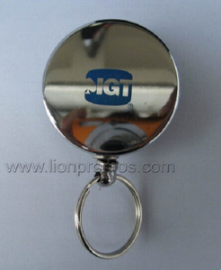 High End Metal Traceable Badge Reel