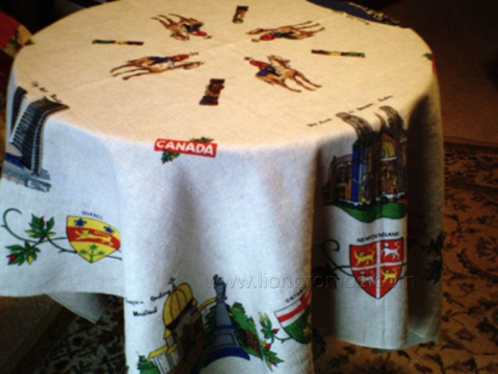 Christmas Festival Theam Family Feast Table Lining