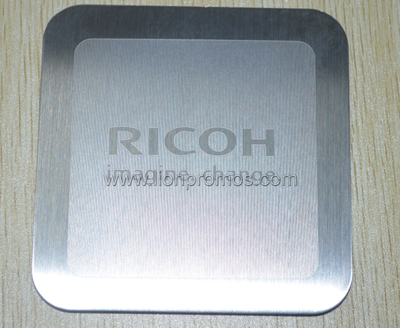 RICOH Office Gift Stainles Steel Cup Coaster