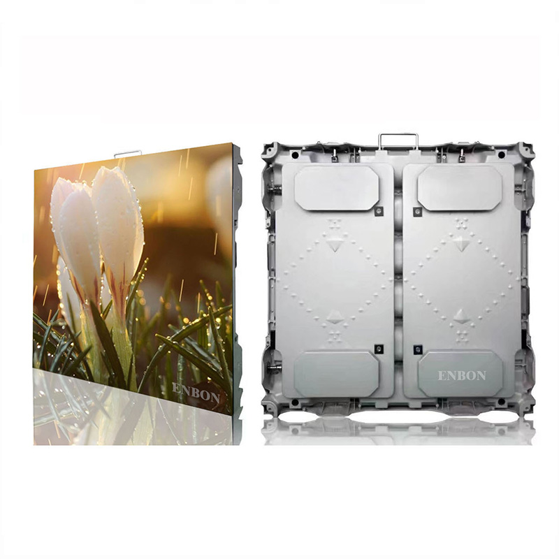 P10 Slim Die Casting 960x960mm Panel LED Pantalla de video LED para publicidad fija