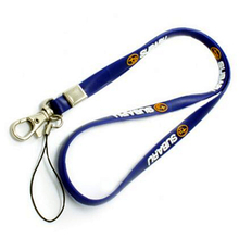 Custom lanyards with pvc material and print logo for name badge holders