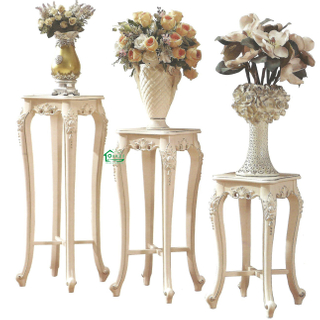 Wood Flower Stand for Study Room Furniture