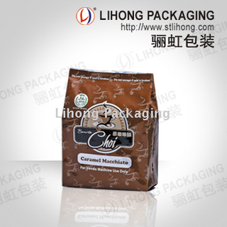 Back Seal Coffee Packing Bag