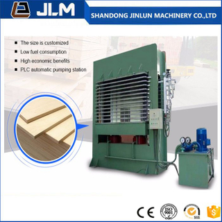 Plywood Veneer Hot Press Machine