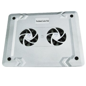 Notebook Cooling Fan with USB Port Two Fans