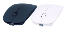 Slim Bluetooth Mouse with Rechargeable Battery 600 mAh