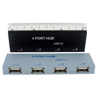 USB 2.0 Hub with Ruler