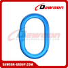 G100 / Grade 100 Forged Master Link com Flat for Crane Lifting Chain Slings