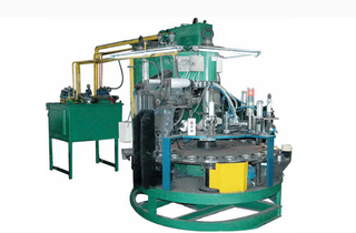 ¢100-125 Automatic Moulding Press For Making cutting disc and grinding wheel