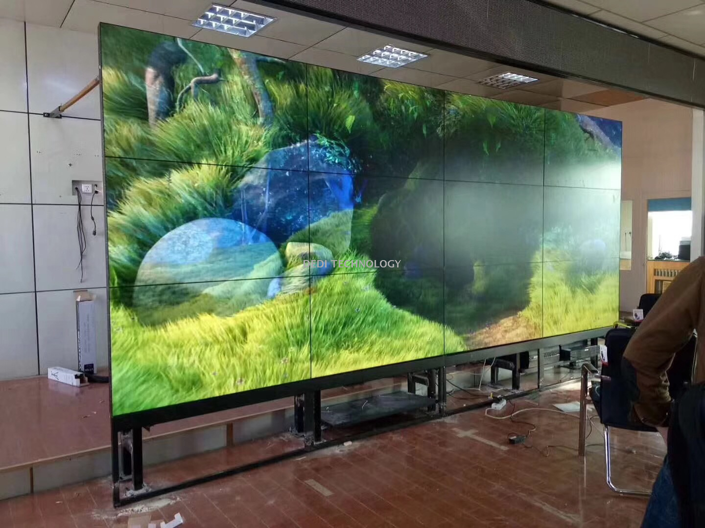 Super Thin Bezel 349Inch Did LCD Video Wall