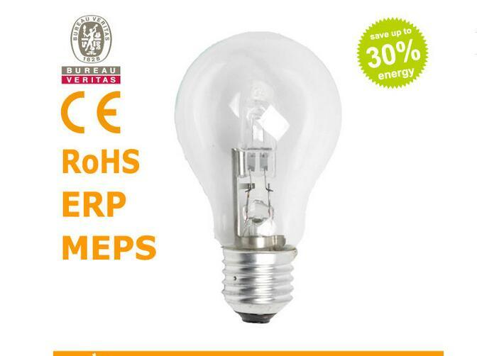 Eco Halogen Lamp A55 220-240V 52W E27 2000h