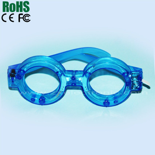 led light up christmas eyeglasses for funny