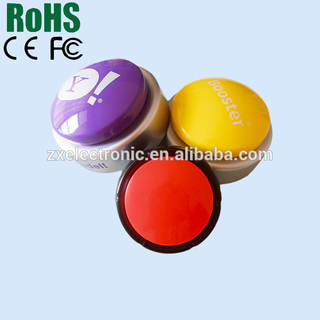 Programmable Sound Button Recording Advertisement Message for Promotion customized button buzzer