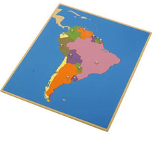Geography Montessori Material Toys