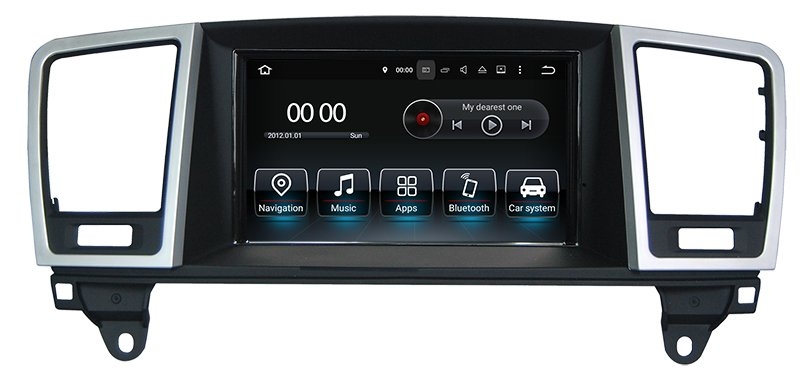 "7""Anti-Glare Auto Stereo for Benz ML / GL Android 10.0 with CarplayHualingan ForMercedes-Benz ML 2013 Android Octa Core navigation car dvd player 4G internet 64G storage WIFI Carplay"