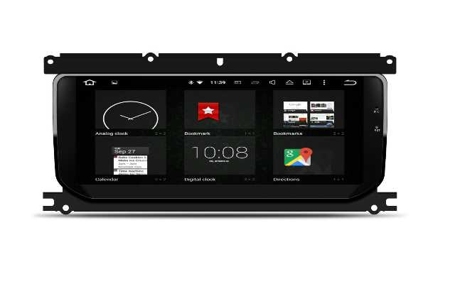 "10.25""gps Navigation Land Rover Evoque Android 8.0 Blue Aay Anti-glare And Anti-glare HD:1920 X 720 Pixels"