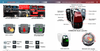 Multimedia Video Interface Android for Mercedes Benz MBUX 5.5 C-Class E-Class S-Class USB SD WIFI Bluetooth