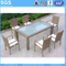 Outdoor Restaurant Modern Design Rattan Dining Chairs and Table