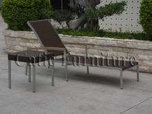 Sun Lounger with Cushion (L005)