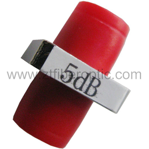 Fixed 5dB FC Optical Fiber Attenuator