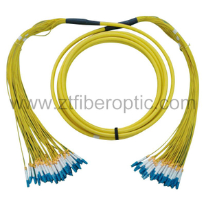 Singlemode 24fibers LC Optical Fiber Patch Cord