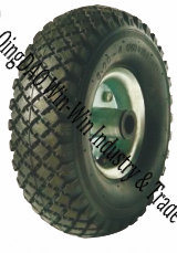 "Pneumatic Rubber Wheels Used on Sack Truck (10""X3.00-4)"