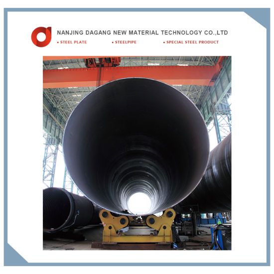 China Supplier Large Diameter Welded Steel Pipe