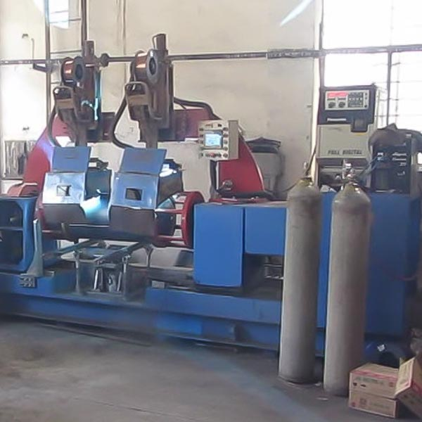 LPG Cylinder Double Head Automatic Circumferential Welding Machine