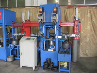 Auto handle welding machine