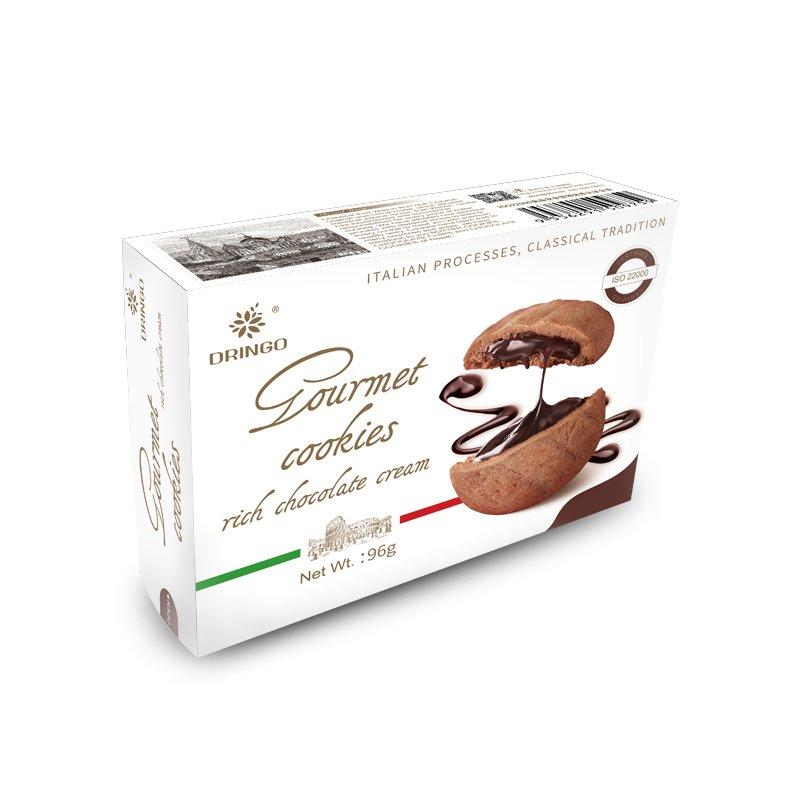 RGB 00058 Chocolate Cream Sandwich Cookie Dringo Rungu Food