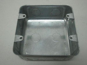 Flush Wall Box Metal Box 4X4