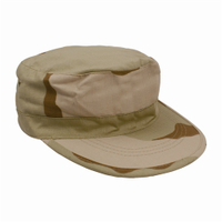 1354-3 Camo Poly/Cotton Military Fatigue Caps