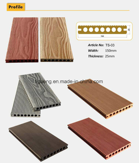 High Quality Waterproof Composite Interlocking Anti UV WPC Decking