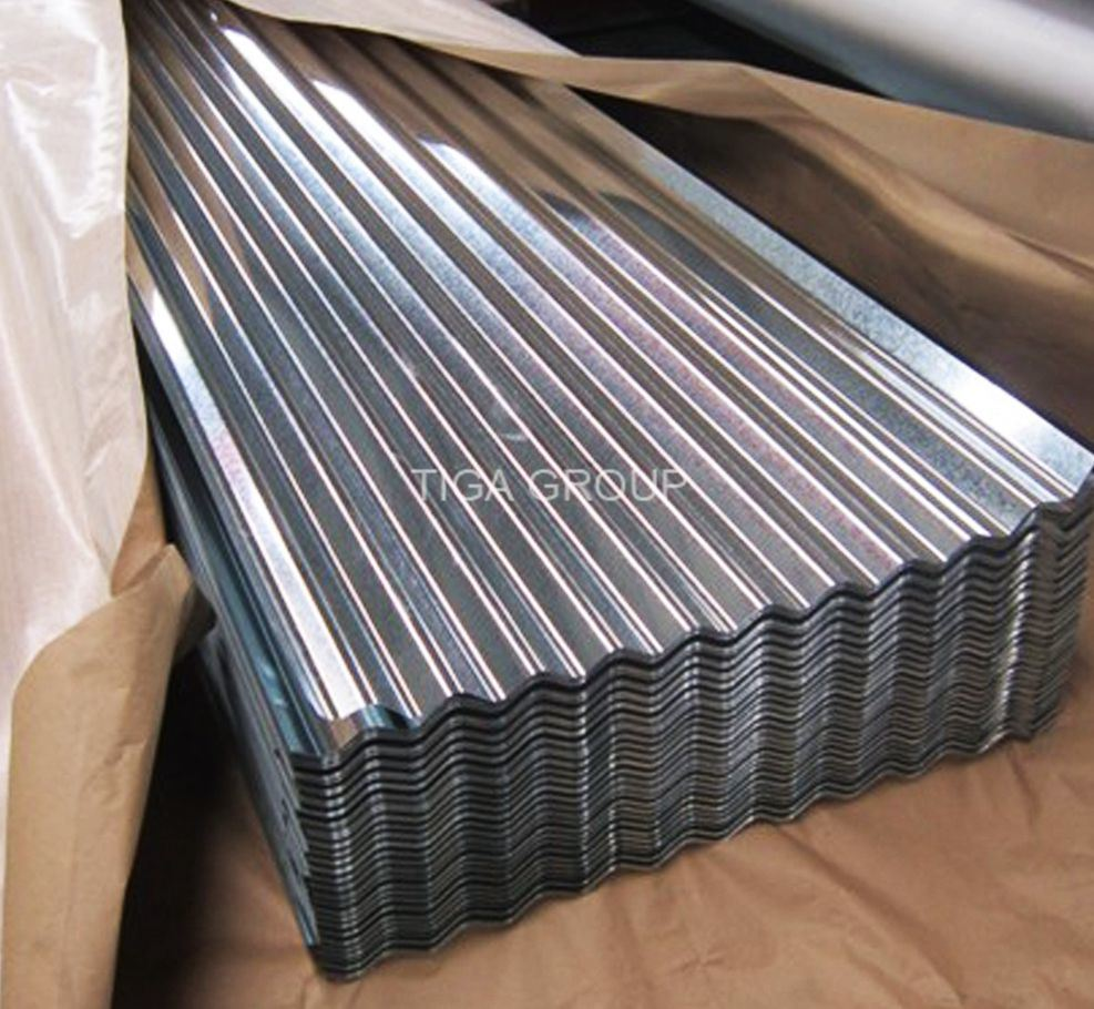 Corrugated Gl Roof Sheet Water Wave Zinc Aluminium Metal Roofing