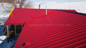 Color Coated Metal Roofing Anti Corrossion Trapezoidal PPGI Steel Sheets