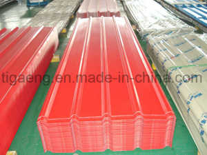 Top Grade Factory Price Trapezoidal PPGI/PPGL Steel Roofing Panel