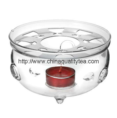 Glass stand for teaset