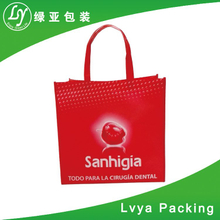 Description of eco friendly products wholesale bags 1.Material 40g-160gsm high quality PP non woven fabric, or PP woven fabric ,recycle, eco-friendly, with lamination outside or inside,AZO free 2.S