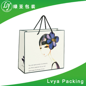 Luxury Recycled Top Quality pantone color printing kraft paper bag