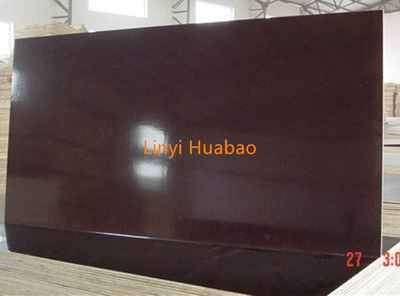 1250*2500 Size High Quality Huabao Marine Plywood Brown Film