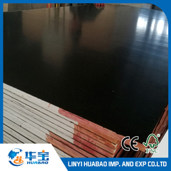 Black Film Faced Plywood Poplar Core (HL014)