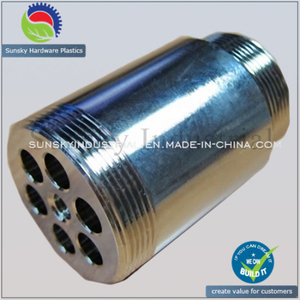 Precision Aluminum CNC Machining Parts for Screw Thread Connector (CH19012)