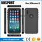 Fashion Full Cover Waterproof Mobile Phone Case for iPhone 8 X