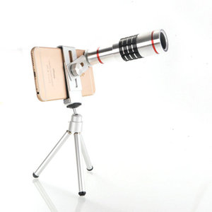 Universal High End Aluminum Camera Zoom Adjustable 12X Zoom Lens
