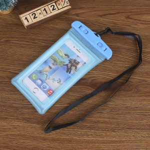2018 Waterproof Bag for Mobile Phone Inflatable PVC Waterproof Phone Bag