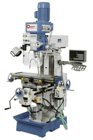ZX7550CW Universal Mill Gear Drive with 3 Axis Digital Readout,